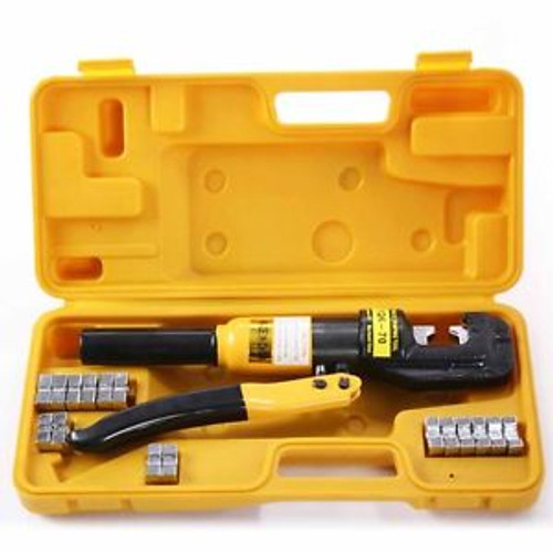 10 Ton Hydraulic Crimper Light Weight Durable Construction Crimping Tool Popular