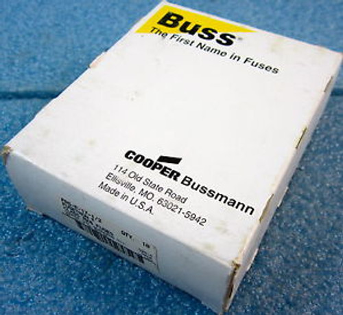 BOX OF 10 COOPER BUSSMANN FRS-R-17-1/2 FUSES, FRS-R, CLASS RK5, 300VAC/300VDC