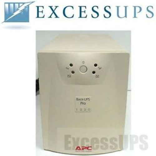 APC BACK UPS PRO 1000 1000VA 670W BP1000 NEW BATTERIES