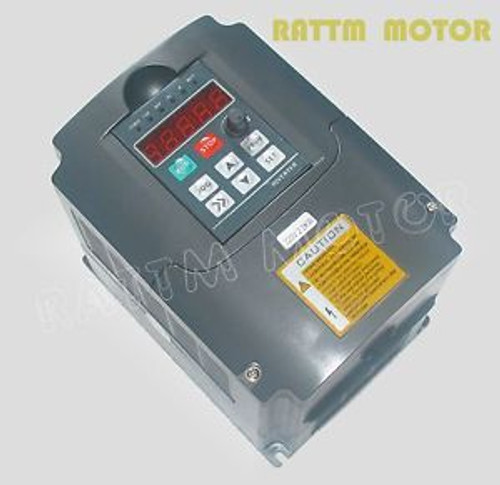 Variable Frequency Drive VFD Inverter 2.2KW 2HP 220V /110VAC