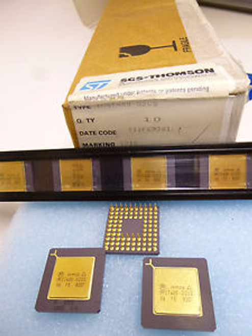 1 piece  IMST400-G20S low cost 32-bit TRANSPUTER  84-pin PGA  INMOS NEW ~