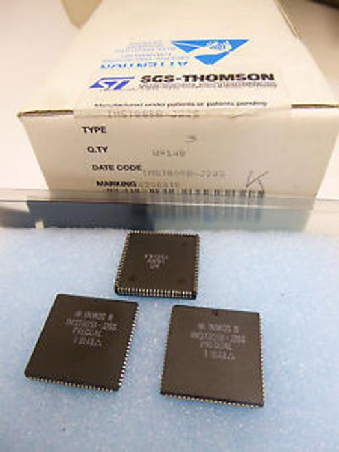 1piece IMST805B-J20S 32-bit TRANSPUTER 20MHz 50ns 84-pin PLCC INMOS ~