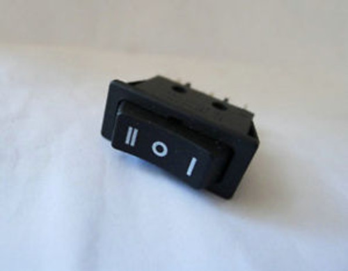 100, Momentary (on)-off-(on) SPDT 3P ROCKER SWITCH,11C V