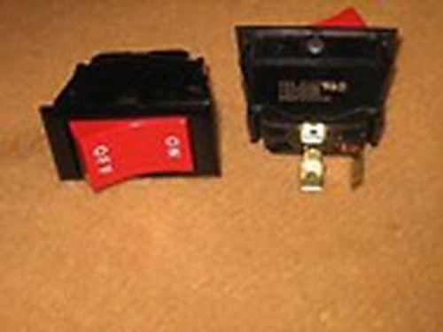 1 Box of Qty 100  EATON ON/OFF Red Rocker SPST Switch 125VAC 15A 3/4HP