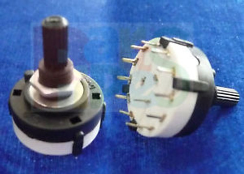100,One Pole 12 Position PCB Wiring ROTARY SWITCH 1P12T