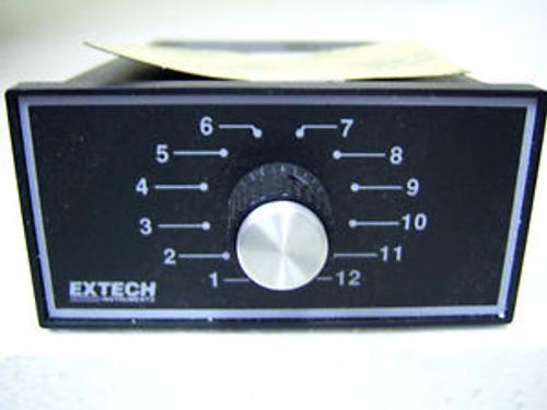 (5366) Extech Instruments 12 Position Selector RAIL MT 429413