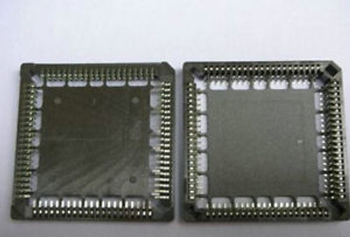 100, Surface Mount PLCC IC Socket 84 Pin SMT SMD Base 63#,teng