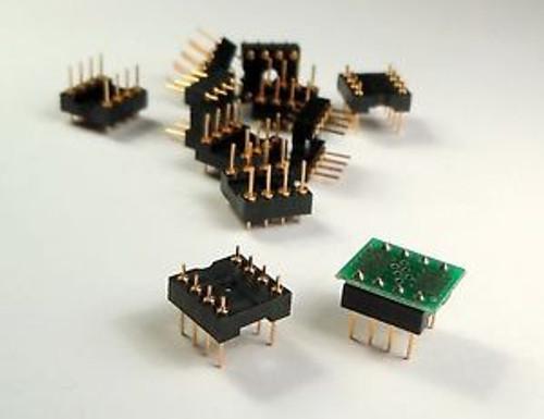 100 pcs DPP-505-0803 Pin DIP Header for Adapter Bds. Alternative to Pin Strips
