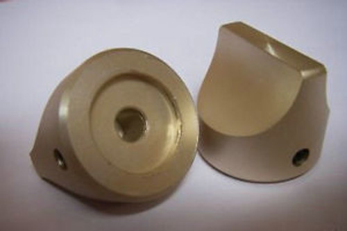 10 28x25 SOLID GOLDEN STOVE TOP VOLUME TONE KNOBSG