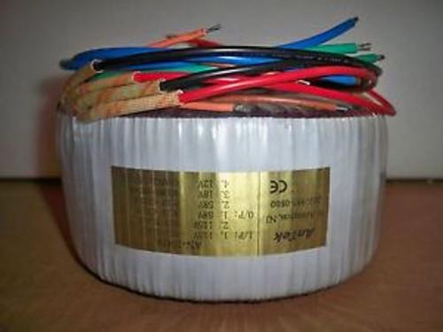 1000VA1KVA TOROIDAL POWER TRANSFORMER 60V+60V/120V 8A/16AAMPLIFIERISOLATION