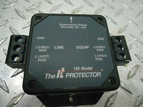 INNOVATIVE TECHNOLOGIES HS-120-10A SURGE SUPPRESSOR