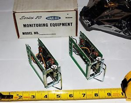(4) Ametek Panalarm Series 80 Module   81FR5-12   Two boxes of two