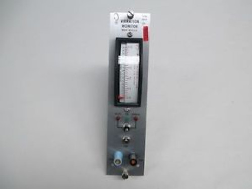 NEW BENTLY NEVADA 7200 RV-R 72208-01-01 VIBRATION MONITOR 0-5 MILS METER D326545