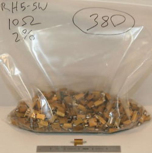 (380) Dale RH-5 Aluminium Resistors 10 Ohm 5 Watt 2%