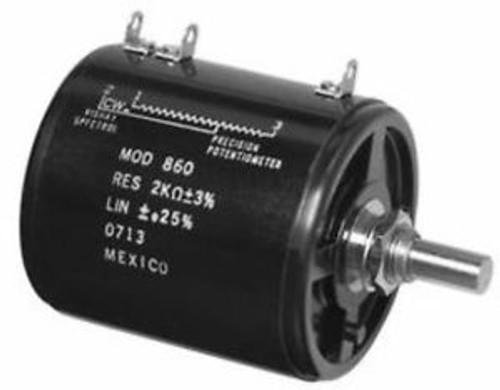 01F8083 Vishay Spectrol 860-11201 Pot Wirewound 200 Ohm 0.01 8W