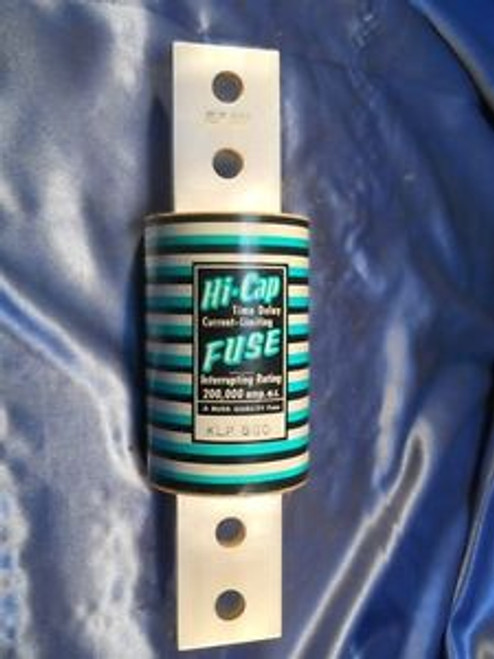 Buss (KLP-800) Hi-Cap 800 Amp Time Delay Fuse New Surplus in Original Box