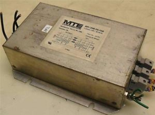 #382  MTE Corp  25CES  RFI/EMI Filter  3-Ph  520V  50/60Hz  OBSOLETE
