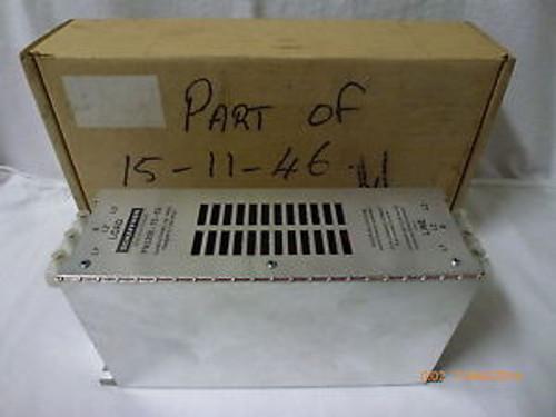 Schaffner FN3258-75-52 RFI Power Line Filter 480VAC 75A 50-60Hz 50C New