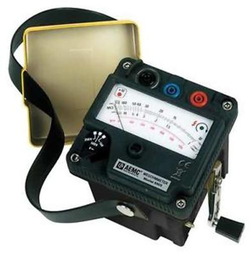 AEMC 6503 Hand Cranked Megohmmeter 250/500/1000VDC