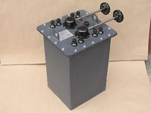 240V 24/40A Single Phase Oil Autotransformer Aomh-40 An-G. Gen. Radiostacoacme