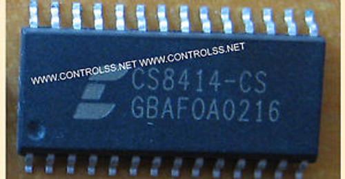 10pcs CS8414-CS ( CS8414CS)  CS8414-CS - 96 KHZ DIGITAL AUDIO RECEIVER  IC