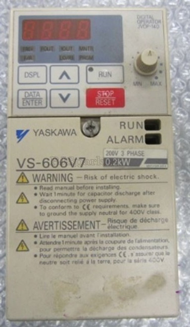 YASKAWA Frequency Converter inverter  CIMR-V7AT20P2