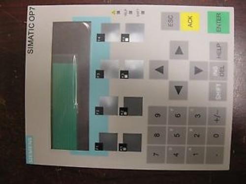 Siemens Op7 Membrane