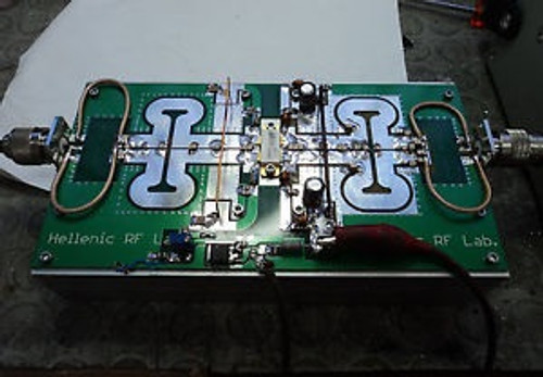 220 Watts Channel 6-7 Vhf Tv 180-195 Mhz Linear Amplifier With Blf278 Class Ab