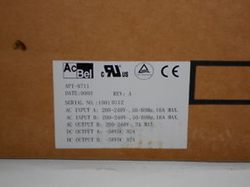 AC Bell API-9711 Shelf NEW