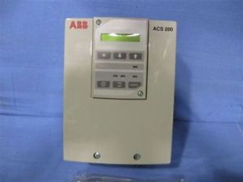 Abb Drive  Acs 200, New In Box