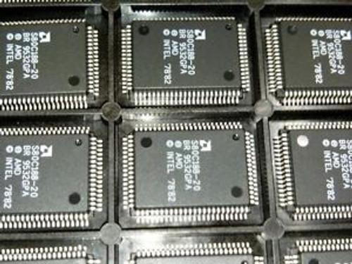 100 Pcs S80C188-20Br Amd  - Cpu - Ic