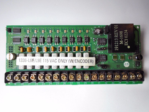 ALLEN BRADLEY 1336-L6E CONTROL INTERFACE BOARD