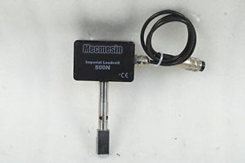 #0087 MECMESIN TORQUE GAGE IMPERIAL LOADCELL 500N