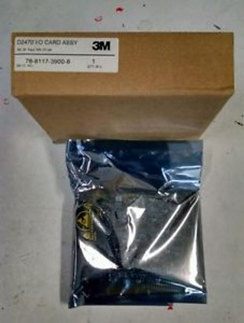 3M Intercom D2470 I/O Card Assy 78-8117-3900-8