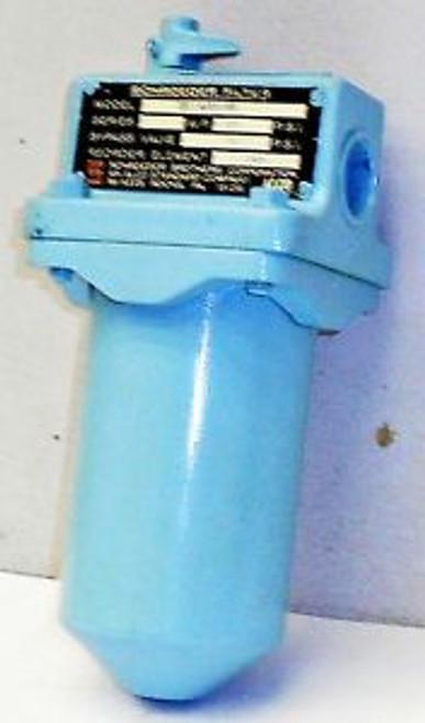 #SLS1C26 New Schroeder Filter W.P.-300PSI Model-TFI1A10HMPD 14924MO
