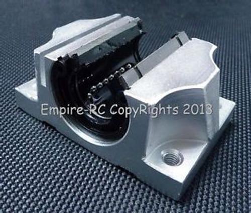 (4 PCS) TBR25UU (25mm) Linear Ball Bearing Support Unit Solide Block FOR XYZ CNC