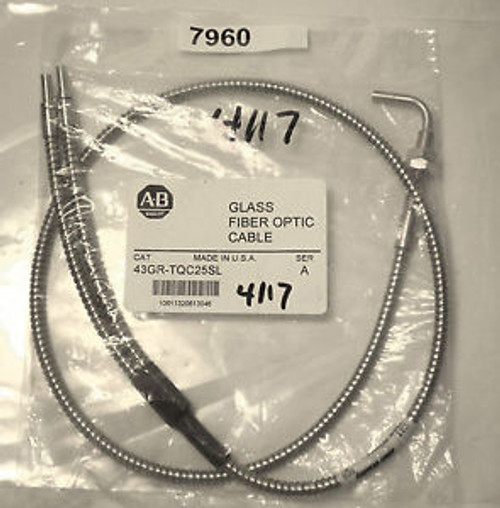Allen Bradley Glass Fiber Optic Cable 43GR-TQC25SL