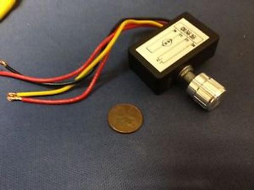 1 Piece - 12V 4A 40W DC motor pump fan PWM stepless speed control switch b20