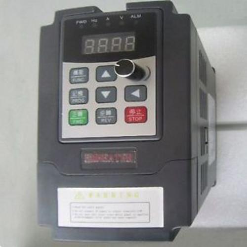 0.75kw Frequency Drive Inverter Converter VFD 220V~240V 1HP integrated IGBT