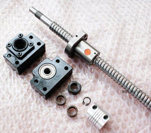 1 anti backlash ballscrew 1605-980mm-C7+BK/BF12+coupler (6.3510) CNC