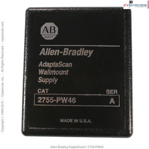 Allen-Bradley AdaptaScan 2755-PW46 Power Supply - New  + 1Yr Warranty