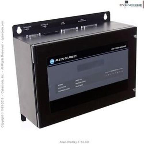 Allen-Bradley 2755-DD Enhanced Bar Code Decoder with One Year Warranty