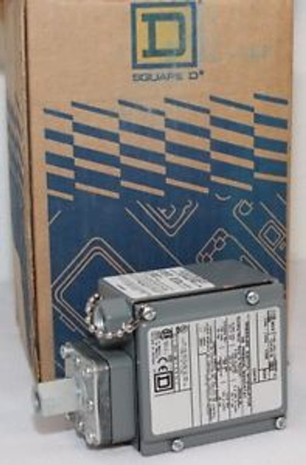 New in Box SQUARE D Machine Tool Air Pressure Switch 9012 GAW-6