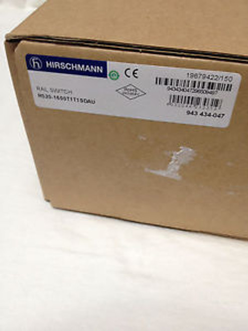 Hirschmann 16 Port Ethernet Switch Brand New
