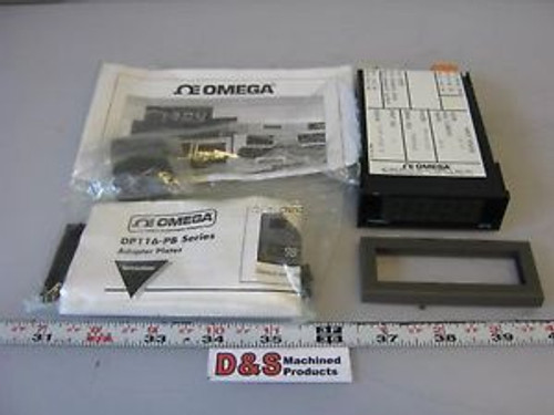 New in Box Omega DP116-JC1 Temperature Display J T/C 115VAC 2W -210┬░C to 760┬░C