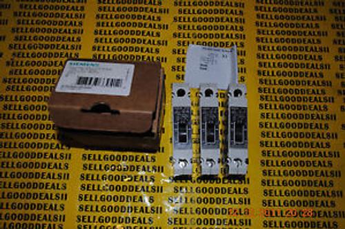 (3 Siemens 3VF2216-0VD41-0AA0 VF100 Circuit Breaker 1P 20A 3VF22160VD410AA0  New