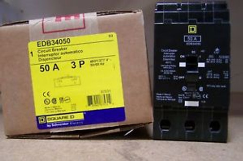 EDB34050 - BRAND NEW  3P, 50AMP 480V  PING