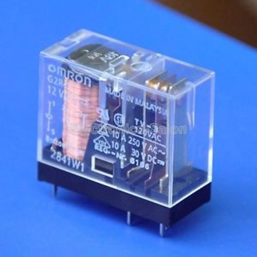 50x OMRON 10 Amp SPDT Power Relay, G2R-1, 12VDC.