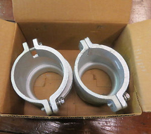 (2)OZ GEDNEY KC-300 2-screw clamp connector NEW IN BOX