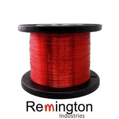 14 AWG Gauge Enameled Copper Magnet Wire 5.0 lbs 400 Length 0.0655 155C Red